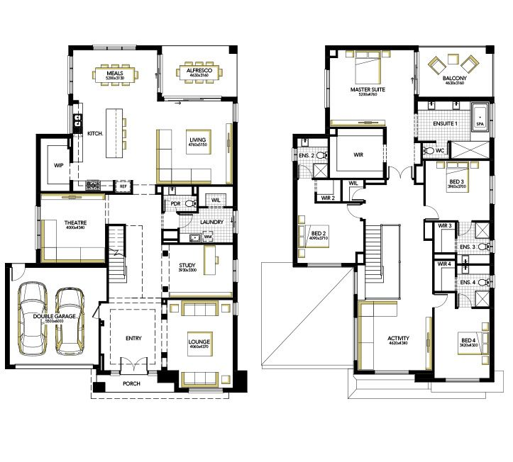 Home designs house plans melbourne carlisle homes