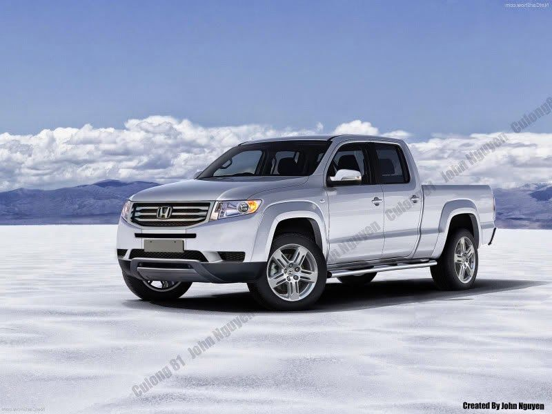 Honda Ridgeline Redesign 2016 Spy Shots 2017 And