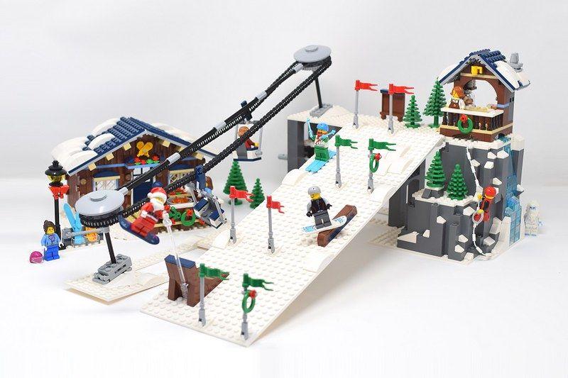 Ski Slope 2 In 2020 Lego Winter Lego Winter Village Lego Christmas Village