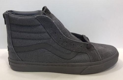 2986614201f Vans-Sk8-Hi-Reissue-Zip-Mono-Tornado-Gray-Shoes-Mens-12