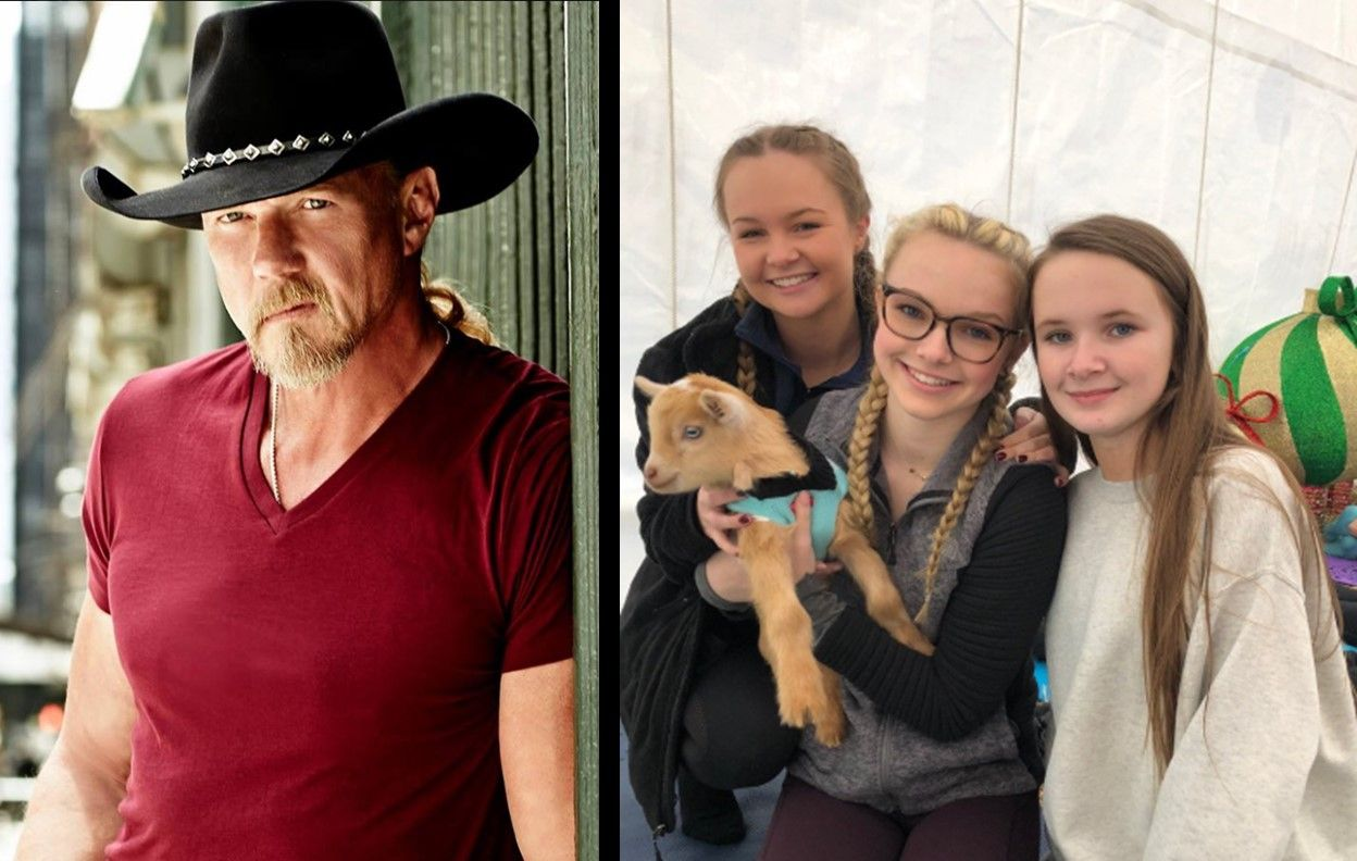 32fb3122b Did you know that Trace Adkins has five daughters and grandchildren ...