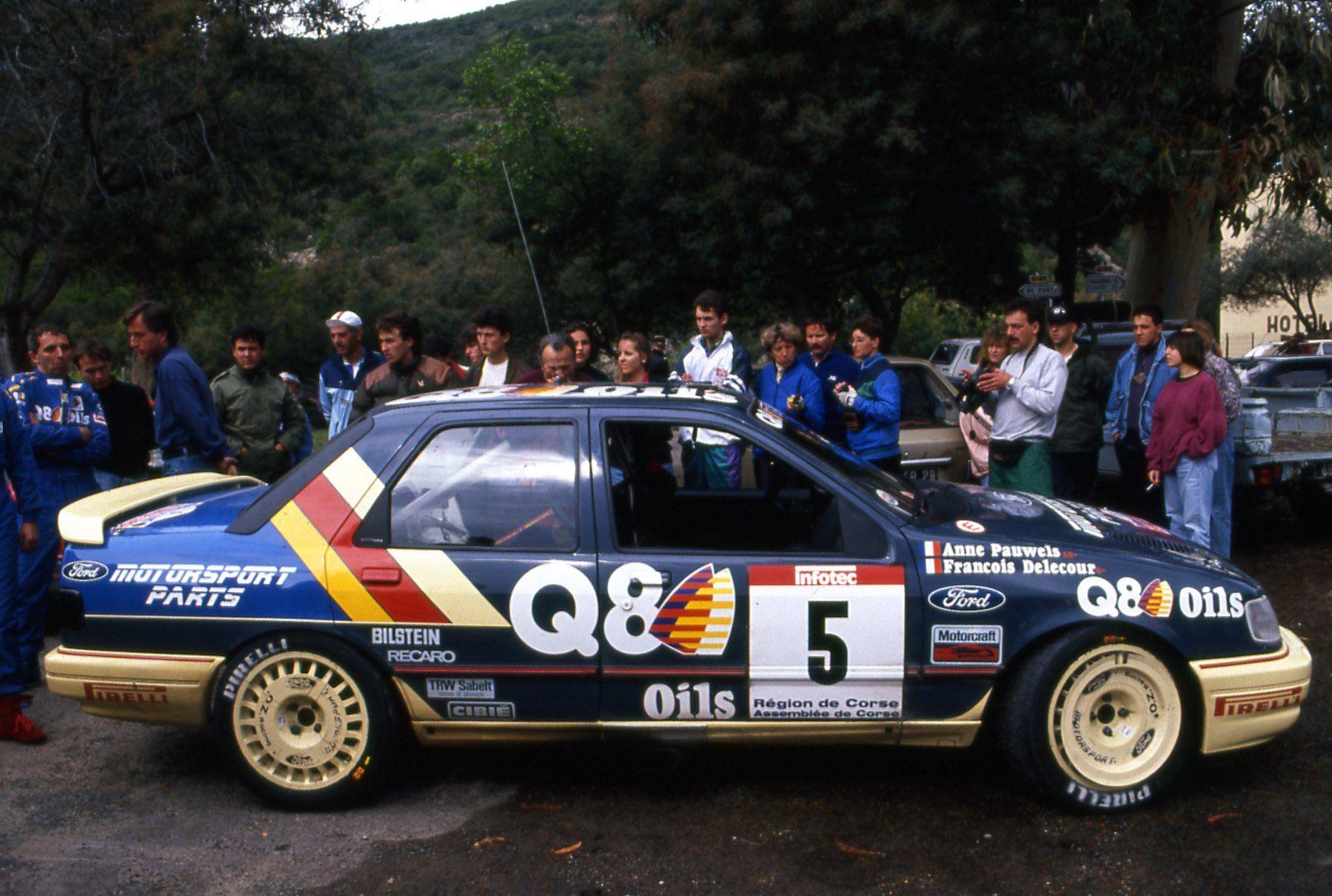 1991 Ford Sierra Delecour Tour De Corse 1991 Ford Sierra