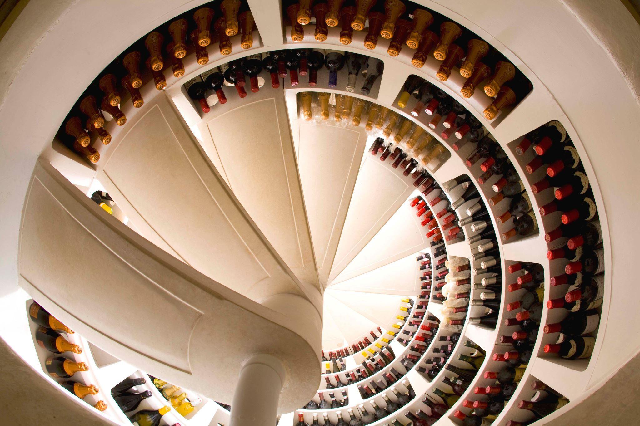 Spiral Cellar Design Makes Your Home Memorable Freshome Com