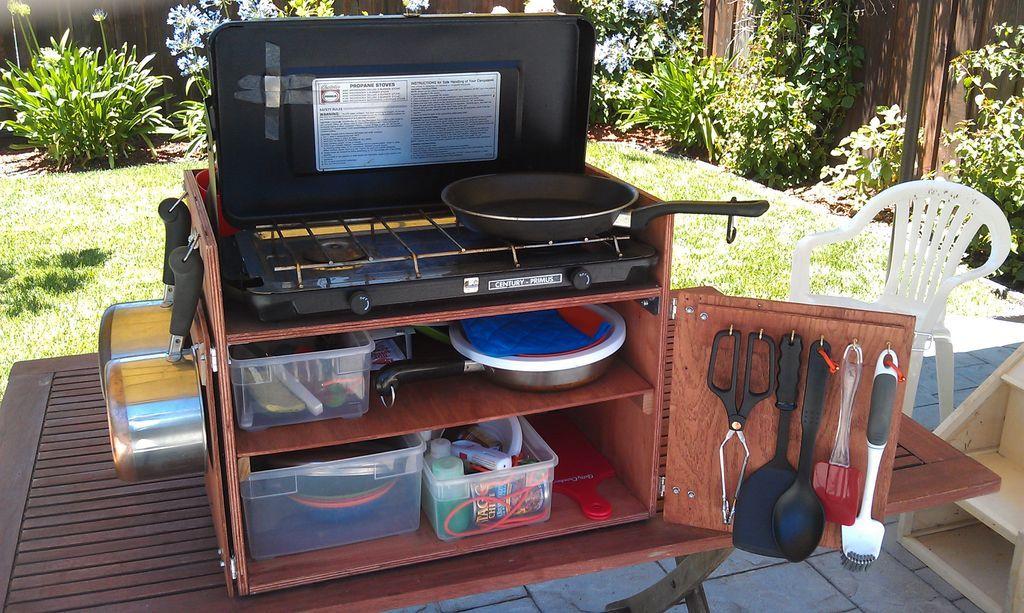 Chuck Box Camp Kitchen Plans