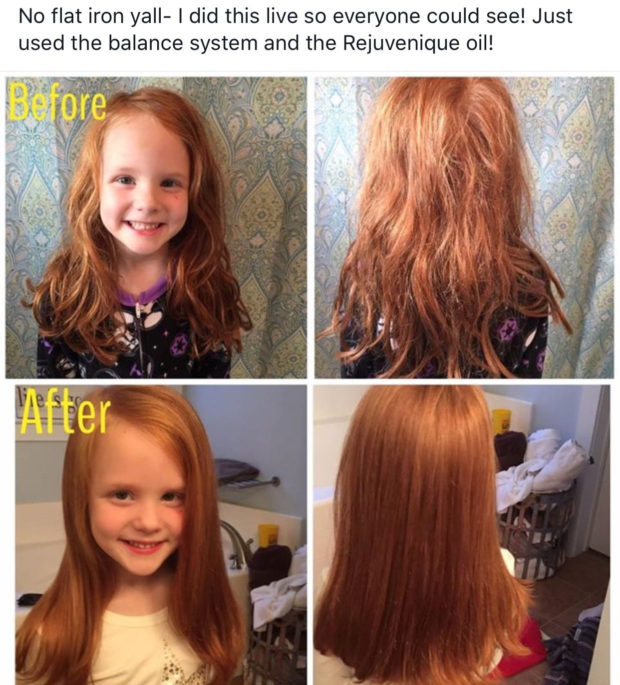 Check out these real results with MONAT. Kid safe. All