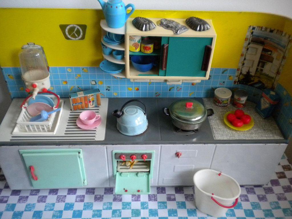 Vintage Göso toy kitchen. (Naralna) Tags: kitchen vintage germany ...