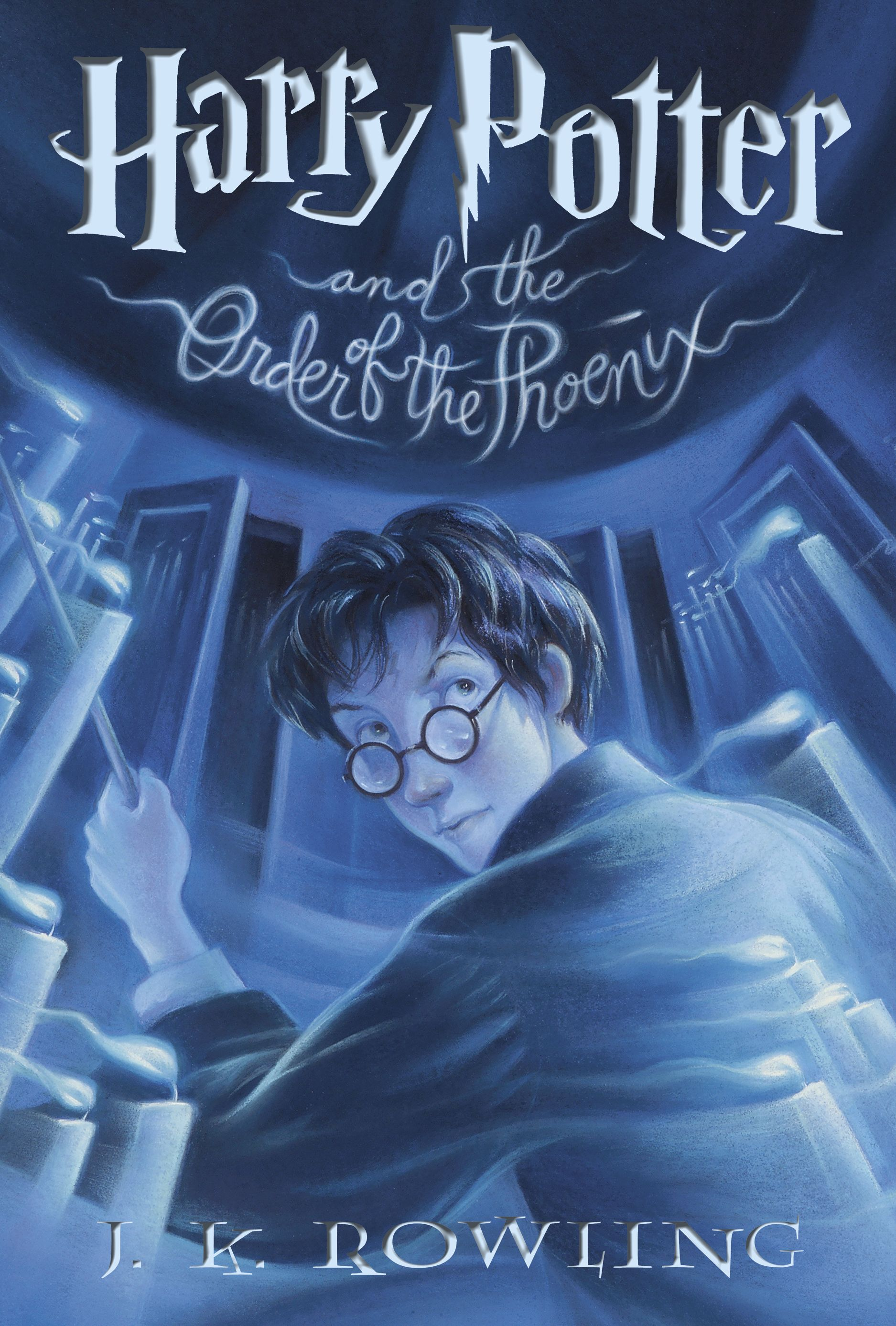 Harry Potter and the Order of the Phoenix by J.K. Rowling <== Any book format is fine with me [hardcover, paperback, e-book (pdf)]