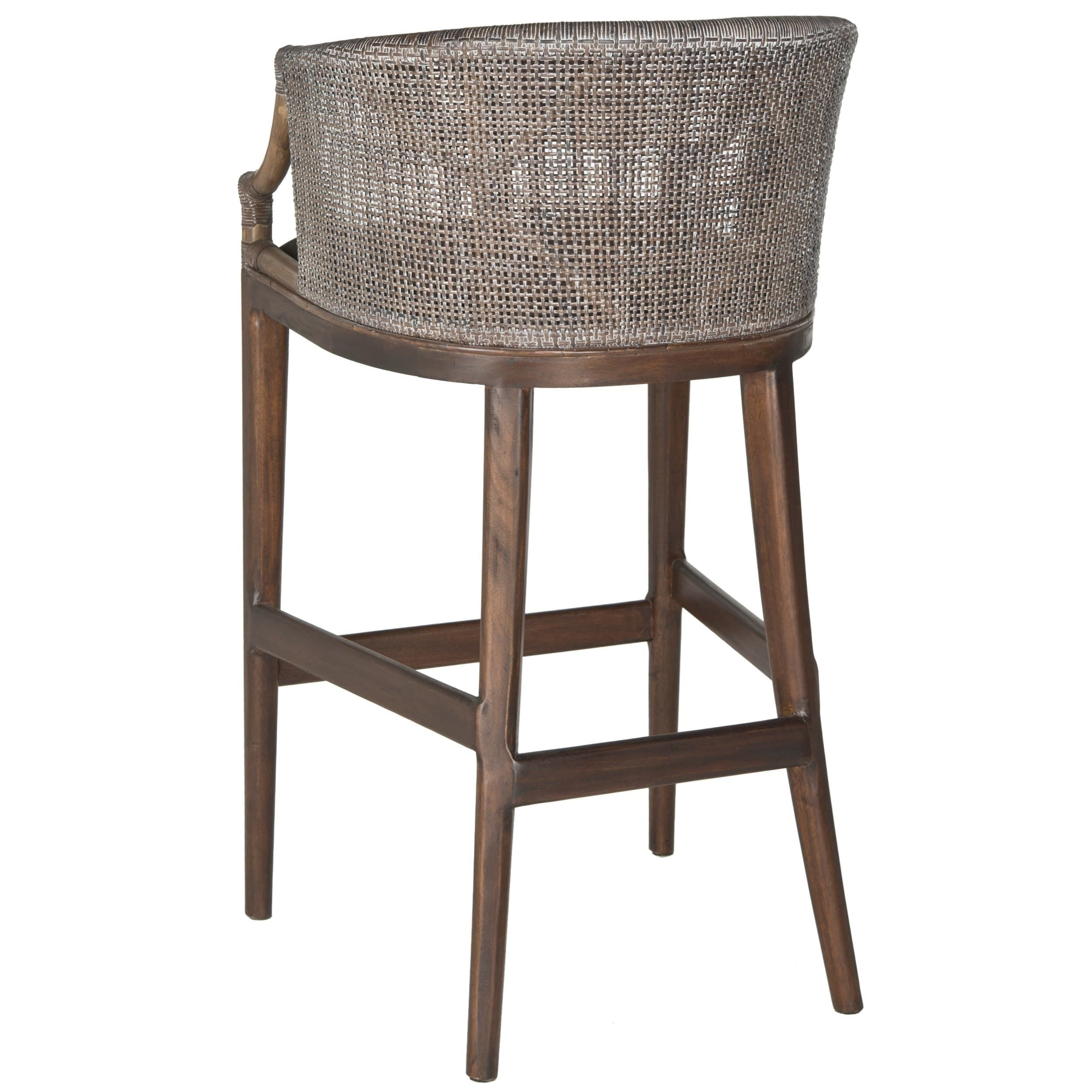 Surprising Safavieh Rural Woven Dining 28 Inch Brando Brown Bar Stool Pdpeps Interior Chair Design Pdpepsorg