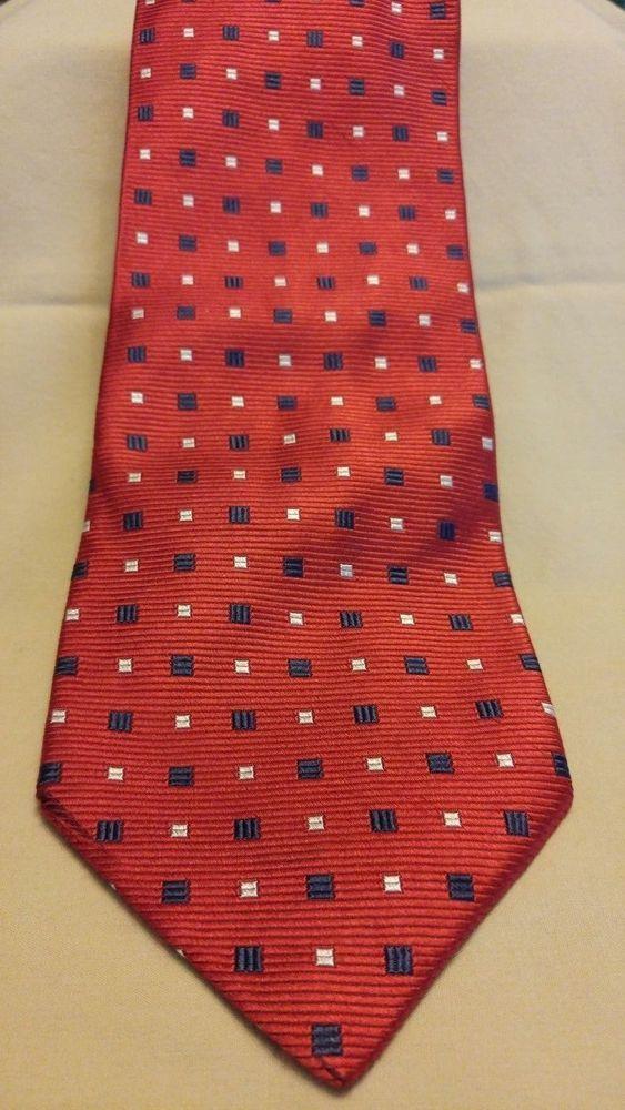 ee7ae35ca69e Jos A Bank Multi-Color Silk Geometric Classic Length and Width Tie  #JosABank #NeckTie