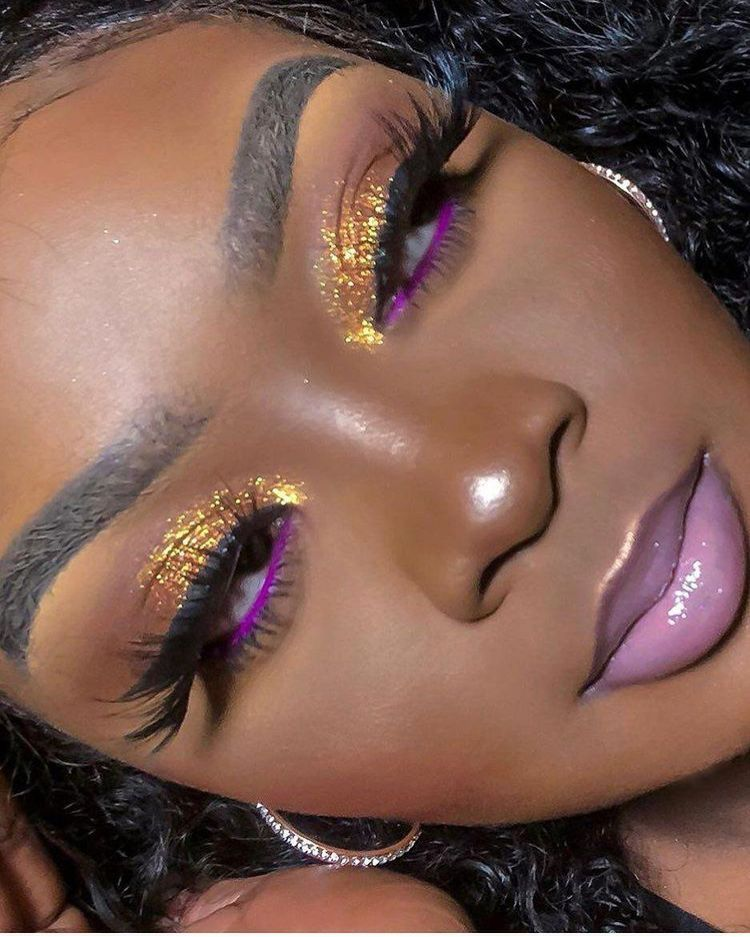 About Me in 2020 African makeup, Dark skin makeup