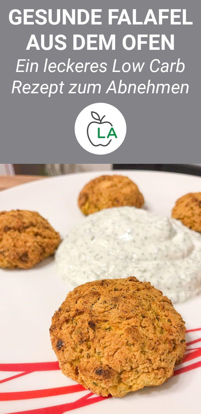 Photo of Gesunde Ofen Falafel mit Kräuterquark – Fitness Rezept zum Abnehmen