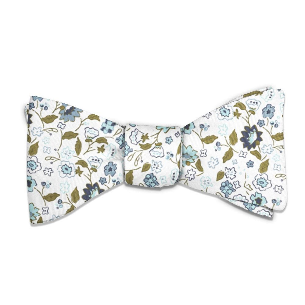 Floral Bow Tie, Bows, Knotty Tie