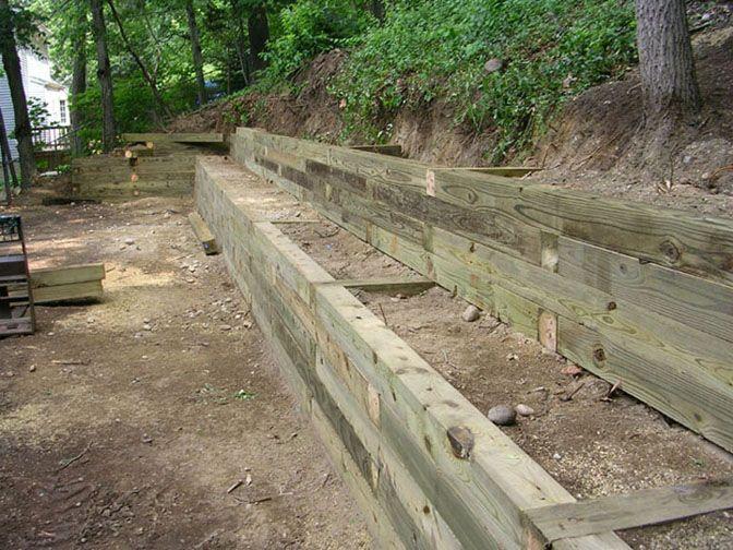 Retaining Walls On Pinterest Retaining Walls Wood
