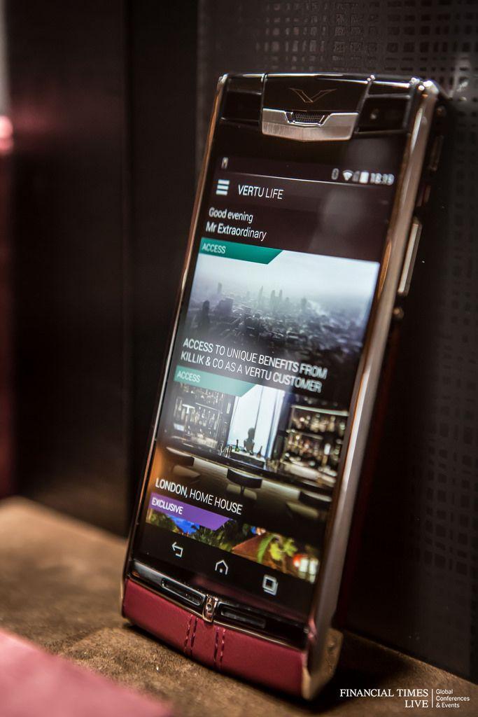 Vertu Red Calf Signature Touch  | _Smart Phones_ in 2019