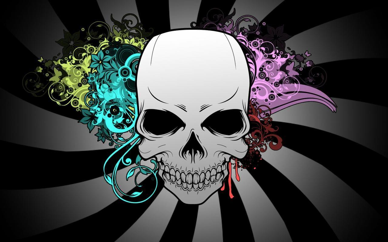Skull Wallpaper For Girls In 2020 Skull Wallpaper Skull