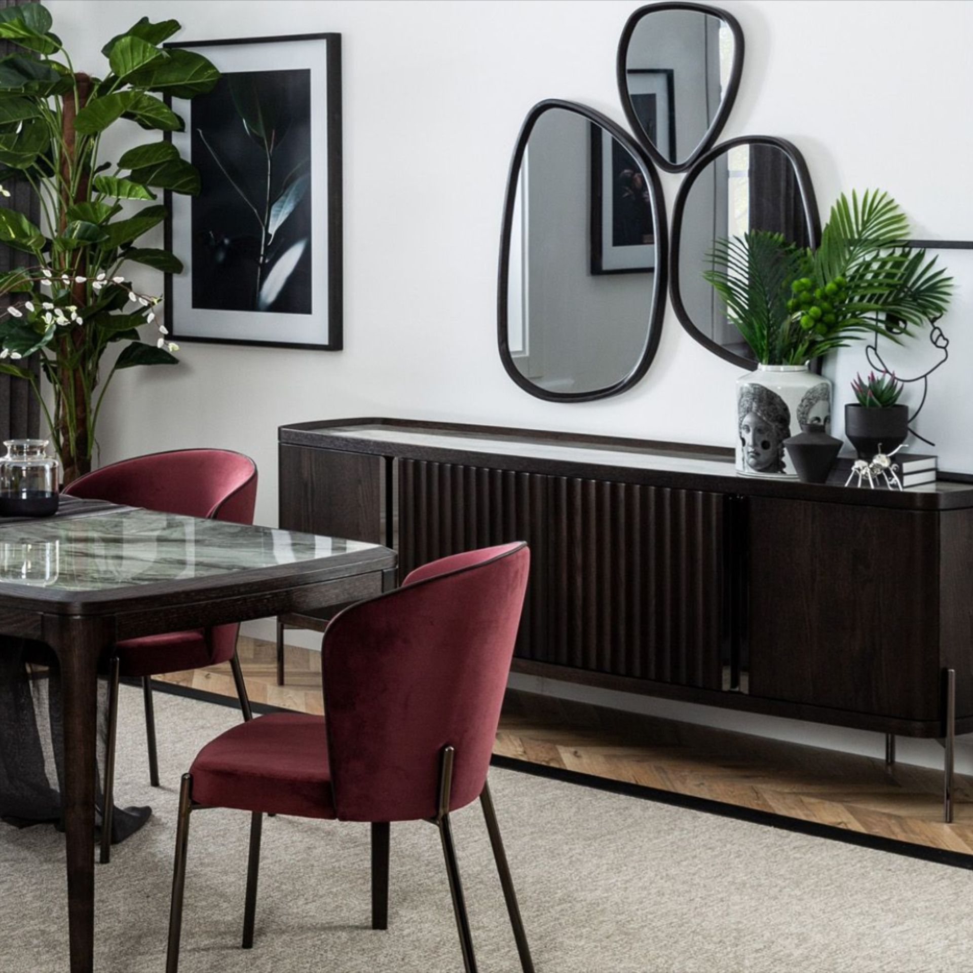 سفره مودرن صغيره Nighty Modern Dining Room Modern Dining Furniture