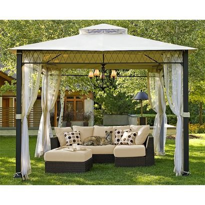 Atlantis 3 Piece Patio Sectional Conversation Furniture Set From Target. I  Want This In