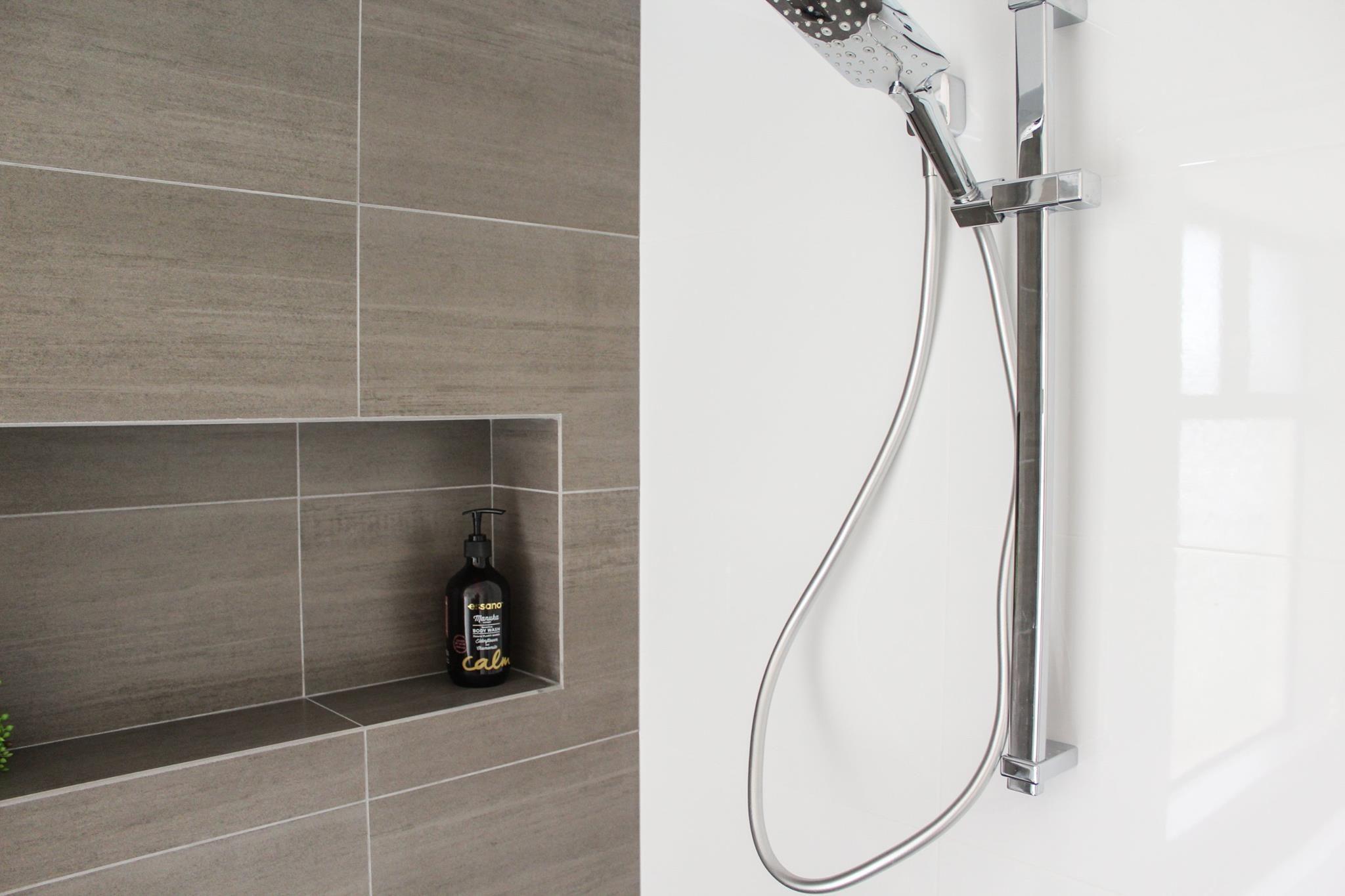 Long Shower Box, Feature Wall Shower Box - Shower Niche - Perth ...