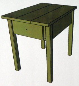 The woodworking plan PDF for these free end table plans is done with