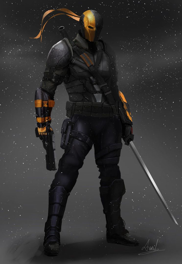 deathstroke character design visit to grab an amazing super hero