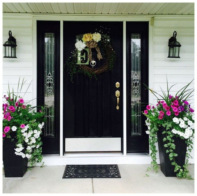 53 Best Spring Front Porch Decorating Ideas – Page 5 – Ciara Decor