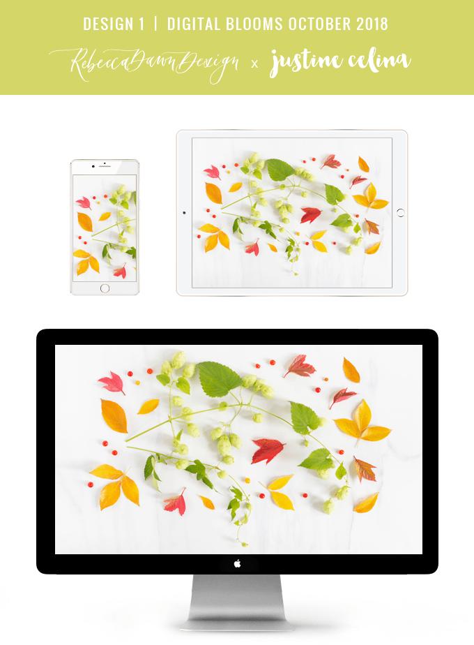 Digital Blooms October 2018 Wallpapers Free Desktop Wallpaper