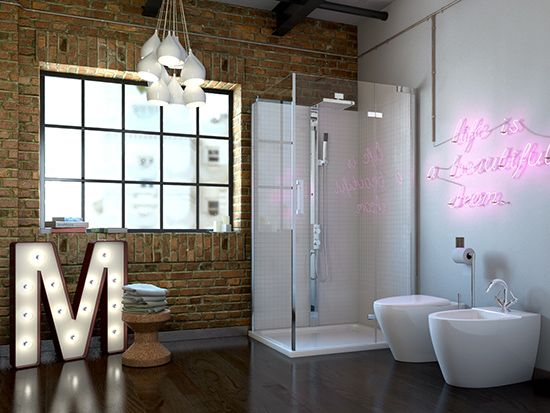 Get The New York Loft Look Bathroom Inspiration Bathroom Ideas