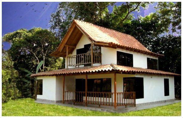 Resultado de imagen para casas de campo de dos pisos for Modelos de fachadas de casas de dos pisos