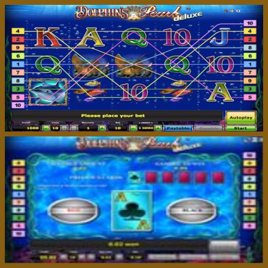 бесплатный игровой автомат дельфин