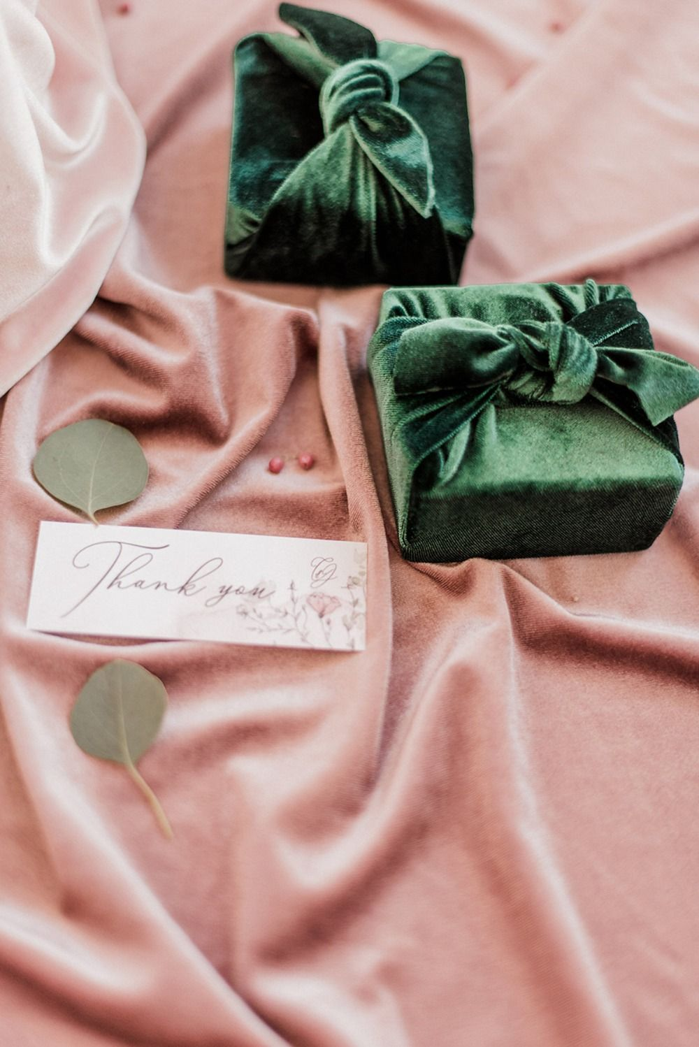 Soft Pink And Emerald Green Winter Wedding Ideas in Greece ...