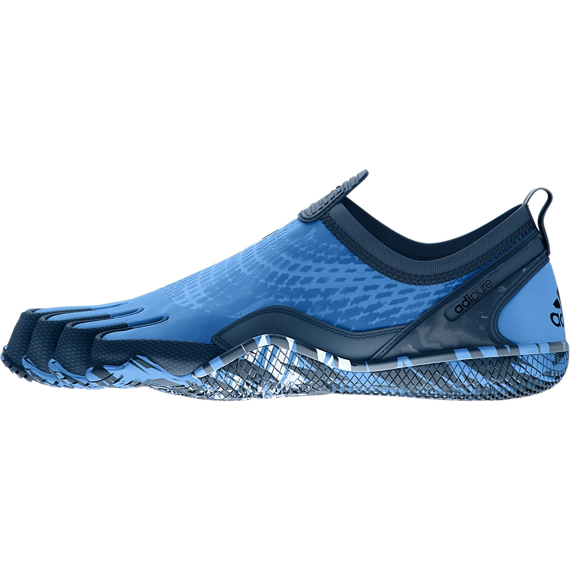 adidas Men's Adipure Trainer 1.1 Running Shoes Blue Size