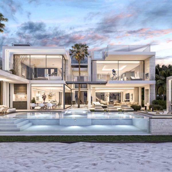 Villa De Luxe De Reve Et Les Plus Cheres Les Plus Belles Maisons Avec Piscine Belle Maison Belle Maison Moderne Architecture De Maison