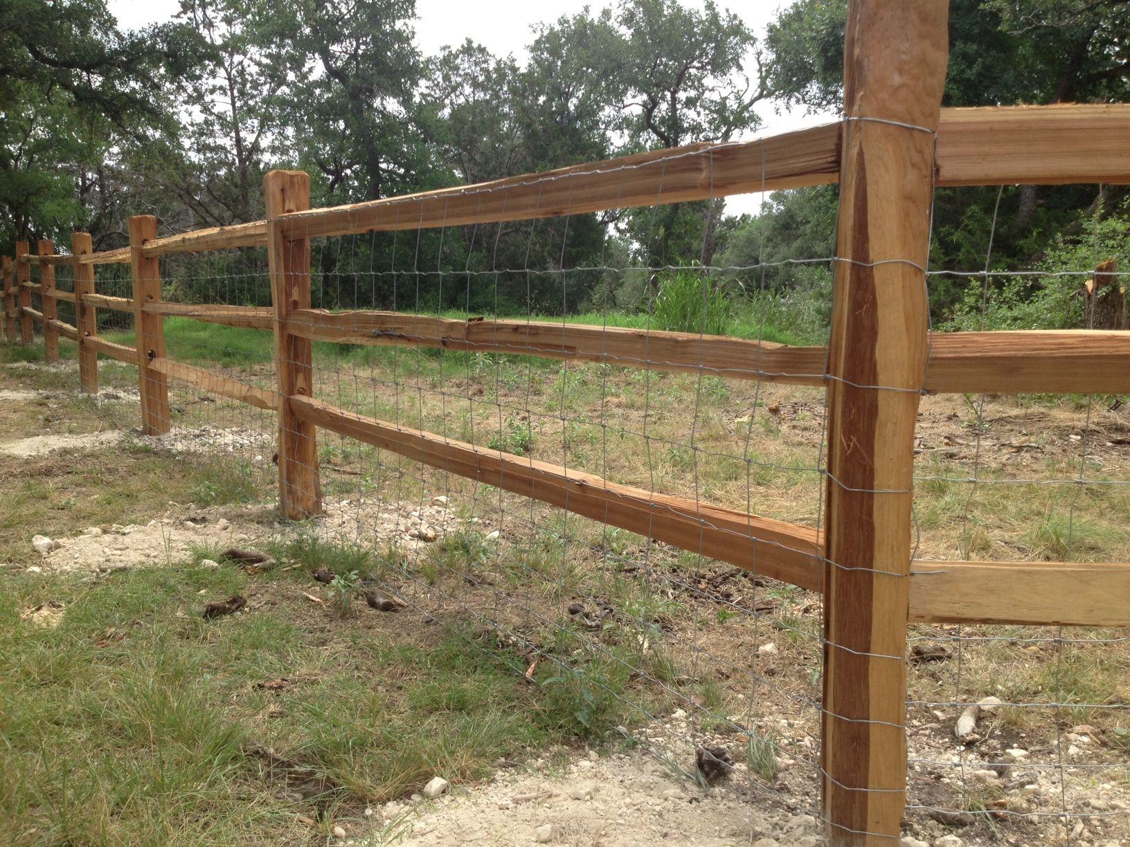 Split Rail Cedar Fencing Farm Pinterest Fences