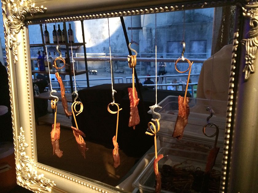 (no title) Skewers, Bacon, Investigations