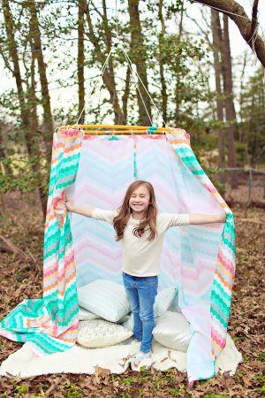 The Diy Adventures Of The Pin Sisters Hula Hoop Tent