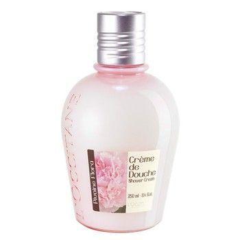 L'Occitane, Crema de ducha Pivoine Flora:   Esta crema de ducha limpia tu cuerpo con suavidad. Su delicado perfume de peonía envolverá tus sentidos. Su textura untuosa se transforma en una ligera espuma al contacto con el agua. (14,00€)