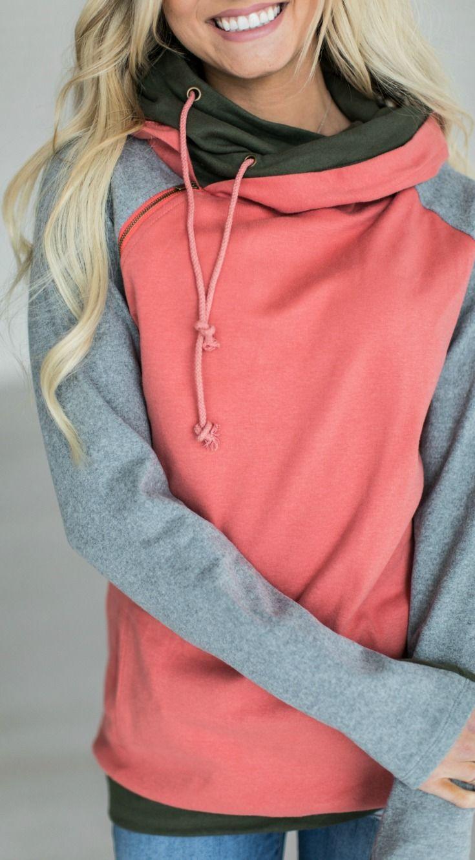 Cabin Fever - double hooded sweatshirt