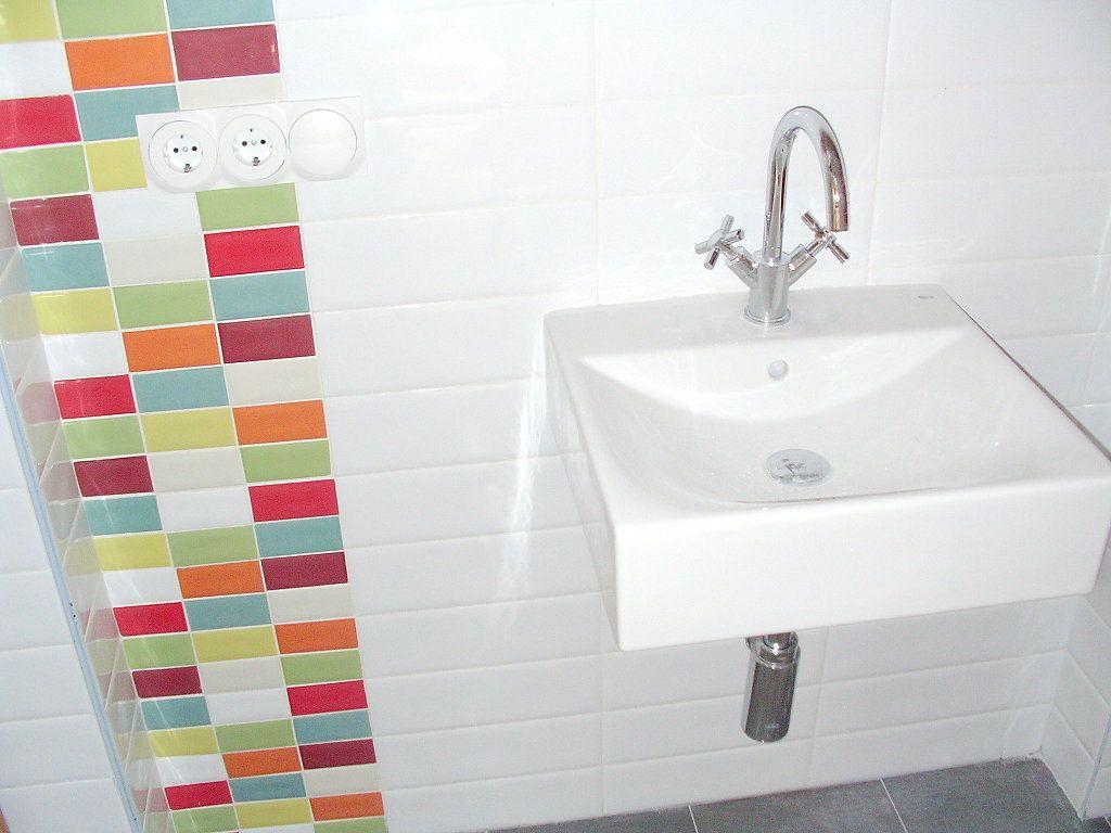 Cenefas para el ba o en vertical decorar tu casa es - Cenefas para espejos ...