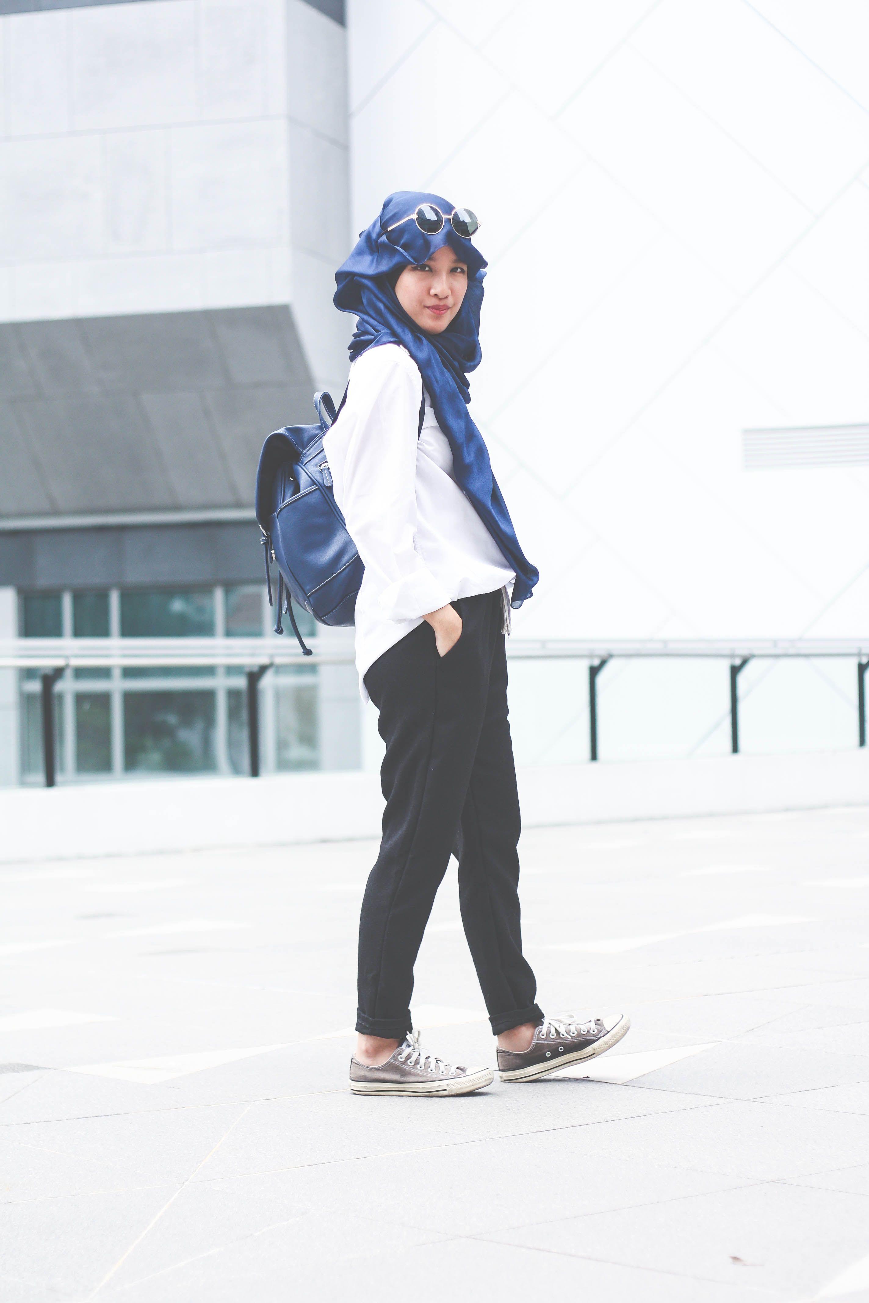 fabulous jogger pants hijab outfit hot