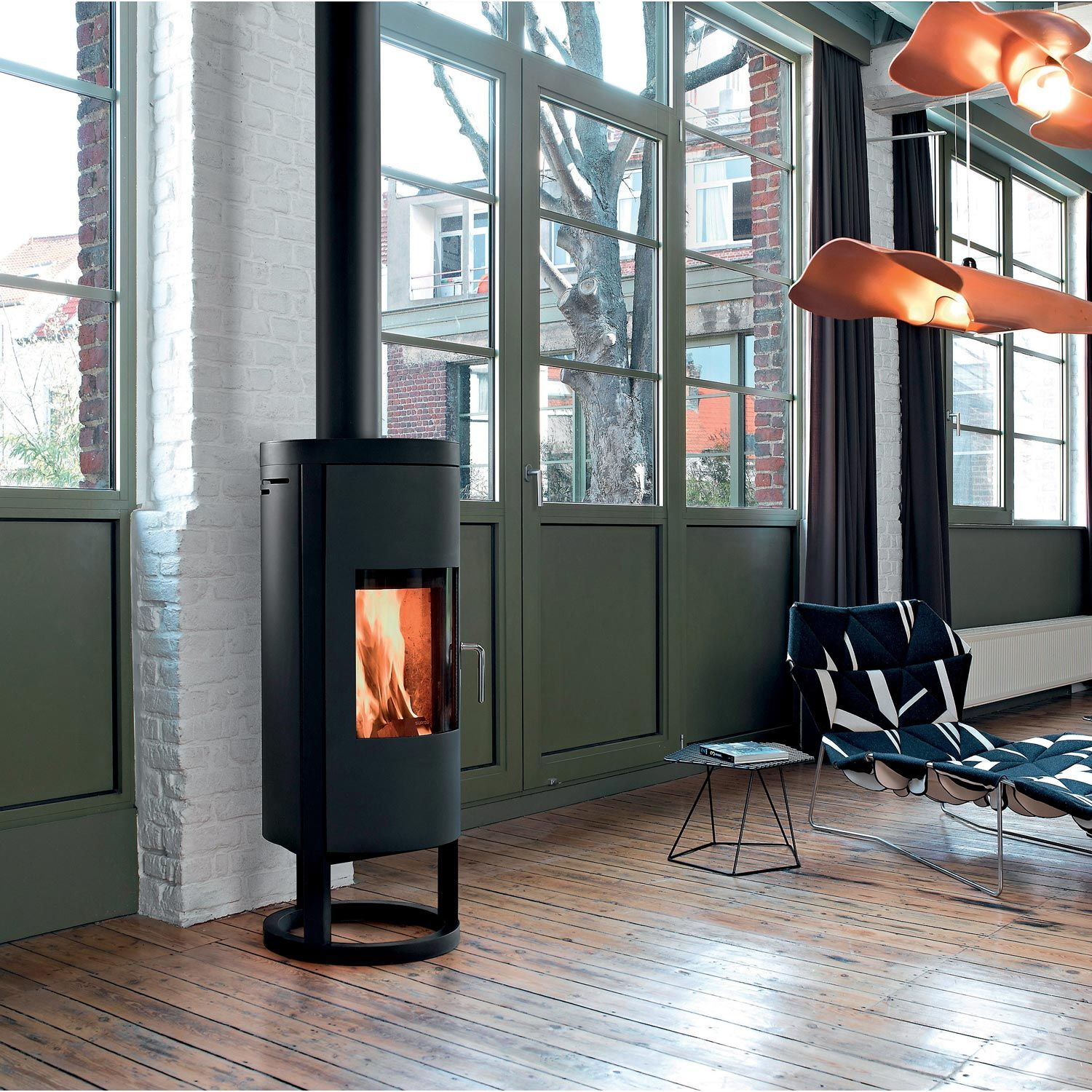 po le bois supra naos 6 kw au coin du feu. Black Bedroom Furniture Sets. Home Design Ideas