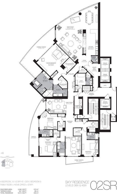 Luxury Beach Home Floor Plans Miami Luxury Real Estate Miami Beach Luxury Homes Condos Condo Floor Plans Country Style House Plans Hotel Floor Plan