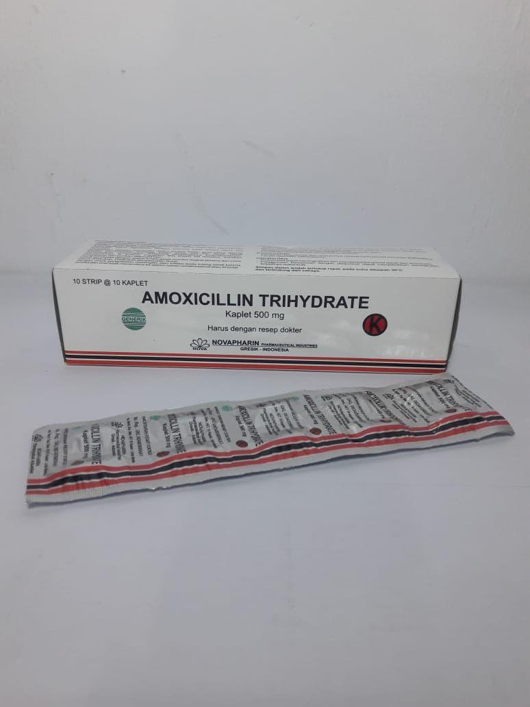 Amoxicillin 500mg Tab Isi 100 Box Resep Dokter Resep