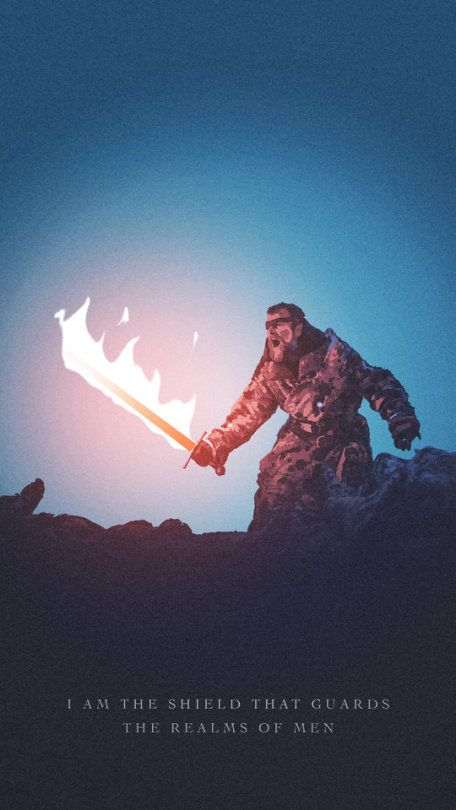 Beric Dondarrion Awesome Digital Illustration By