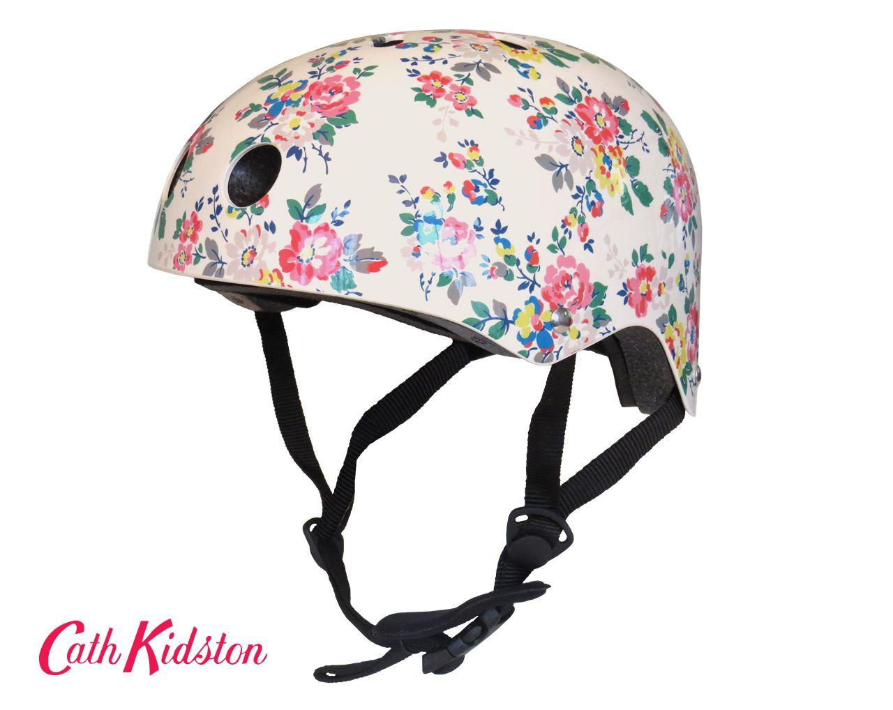 Cath Kidston Cycle Helmet Kingswood Rose Bicycle Pretty Bike