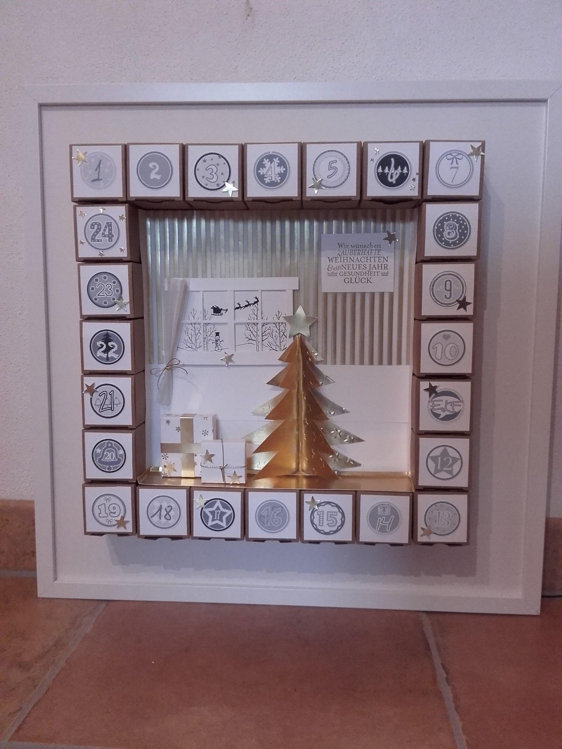 Adventskalender | Новый год | Pinterest | Ikea bilderrahmen, meine ...