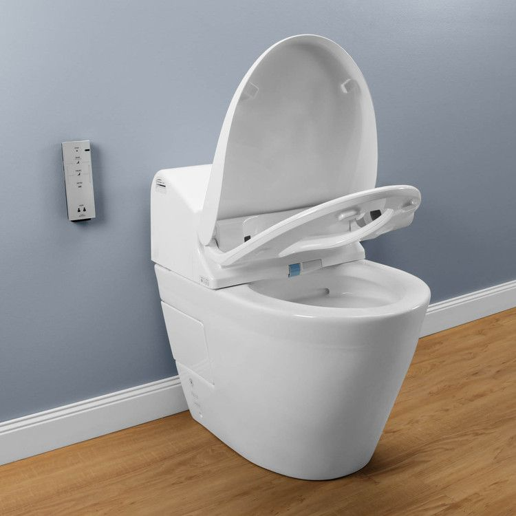 Buy Toto MS970CEMFG#01 Washlet G500 Bidet with Integrated Elongated ...