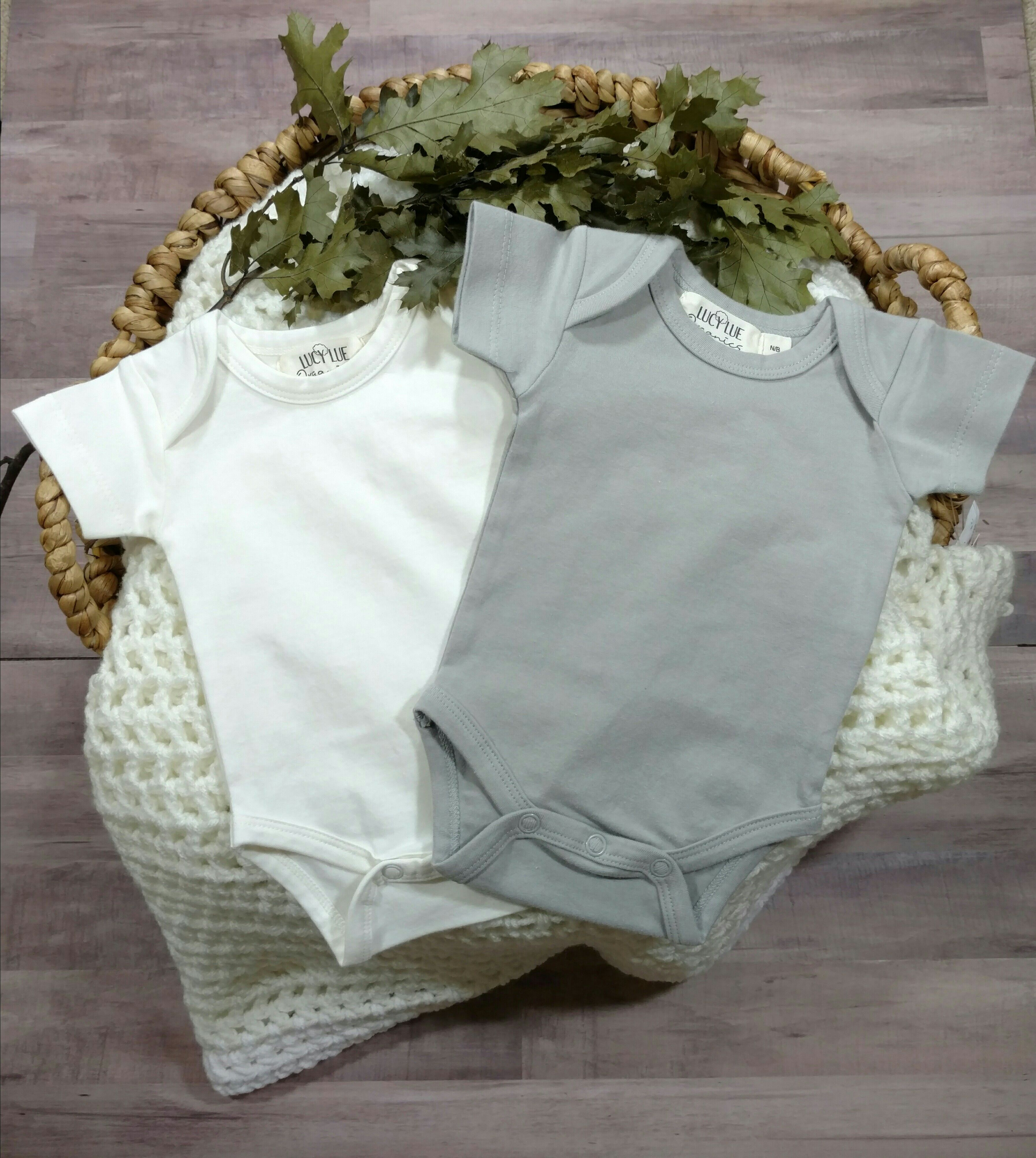 Newborn takehome outfit from Lucy Lue Organics Luxury baby basics
