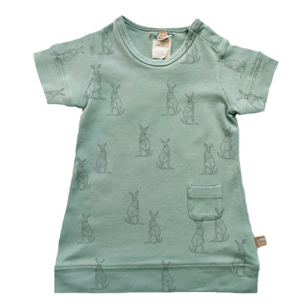 New dress! Sea-green Kangaroos