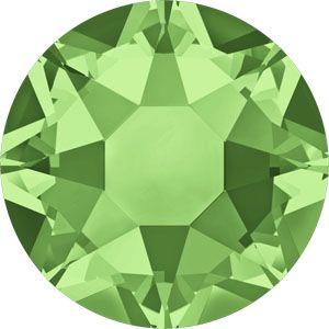 Peridot Green Swarovski Hot Fix Crystals Kompoziciya
