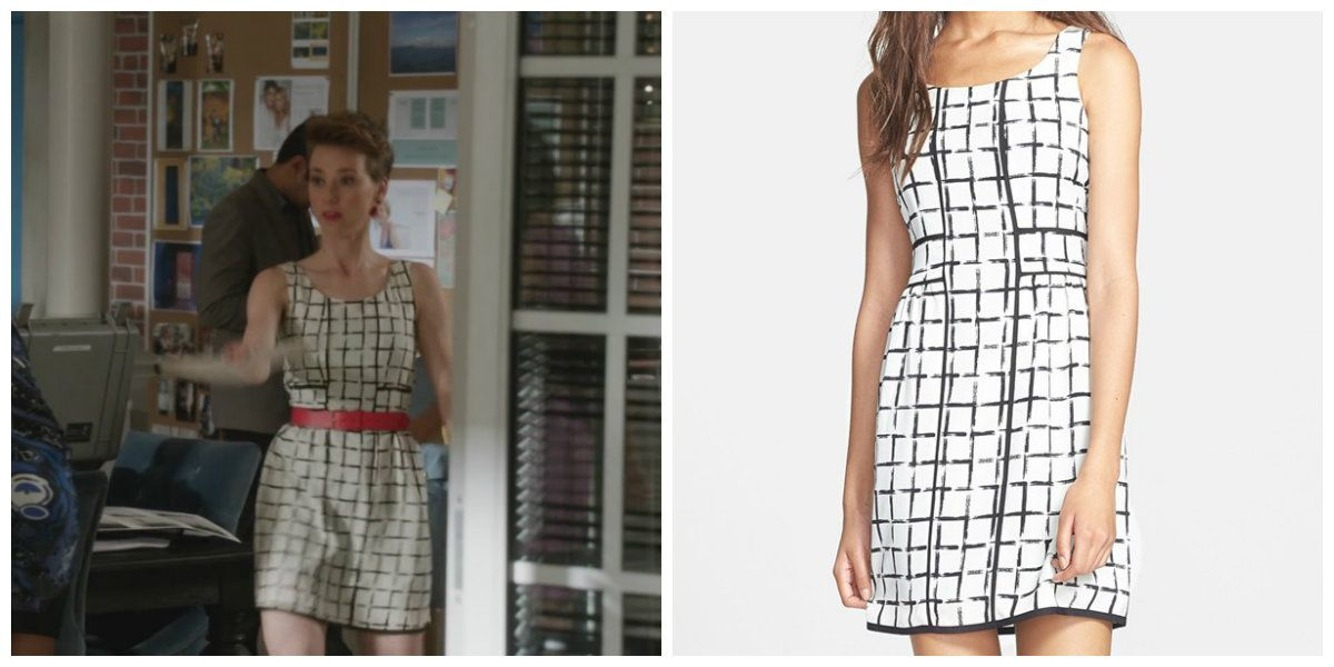 Revenge - Serie TV - moda - look - style - estilo - inspiration - inspiração - fashion - dress - vestido - casual - Collective Concepts - Margaux LeMarchal (Karine Vanasse)